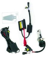 Φώτα Μοτοσυκλέτας H4-3 XENON SLIM - Διπλή σκάλα - 35W