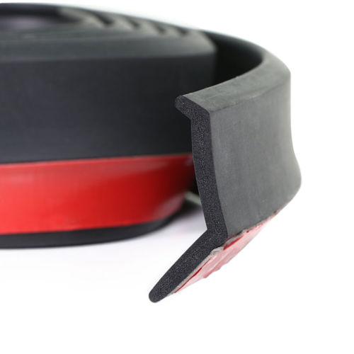 Αυτοκόλλητη ταινία bumper Samurai 2,5m/5cm Μαύρο- Προστατευτικό Χείλος Προφυλακτήρων