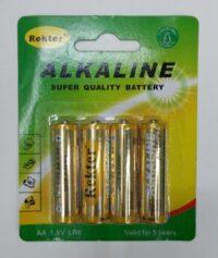 Αλκαλικές μπαταρίες AA, Rekter (1.5V) – LR6