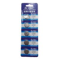 Μπαταρίες λιθίου CR1620 (3V) / 5 τεμάχια - Da Vinci