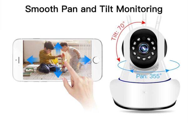 Ασύρματη κάμερα παρακολούθησης IP - XM 3201-W