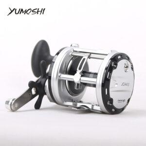 Μηχανισμός για καλάμι ψαρέματος Yumoshi JCA400 με 13 ρουλεμάν & οδηγό πετονιάς