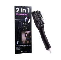PTC HEATING - Ηλεκτρική βούρτσα μαλλιών με τεχνολογία ιόντων - 2 ΣΕ 1
