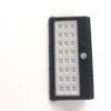 Mini ηλιακό ευρυγώνιο φωτιστικό τοίχου LED με ανιχνευτή κίνησης & αισθητήρα νυκτός