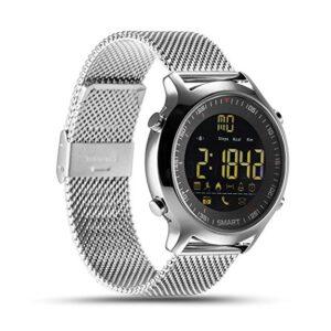 Smart watch αδιάβροχο με μεταλλικό μπρασελέ-Xwatch EX-18 Smart Watch Bluetooth