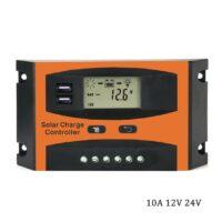 Ρυθμιστής φόρτισης μπαταριών PWM 10A 12V/24V