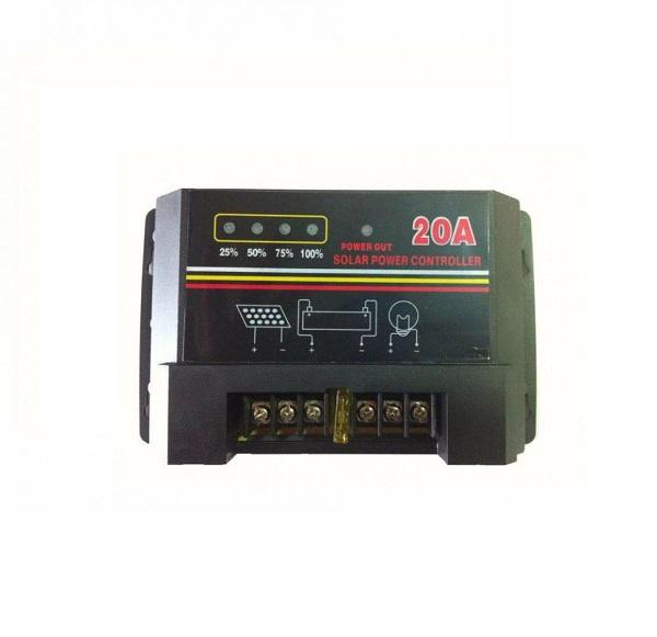 Ρυθμιστής φόρτισης μπαταριών για φωτοβολταϊκά 20Α 12/24V CM200 OEM