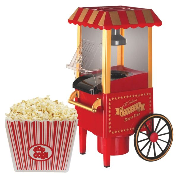 Old fashion pop corn machine