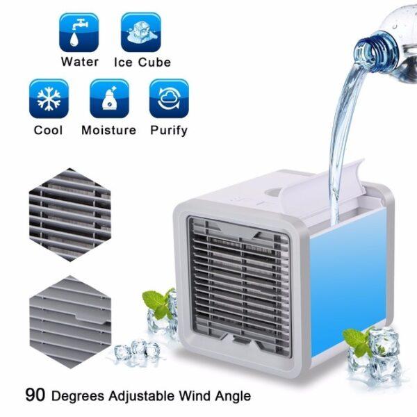 Φορητό mini air-cooler ανεμιστήρας