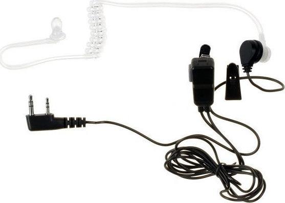 Ακουστικά ασύρματου με διπλό βύσμα και μικρόφωνο
