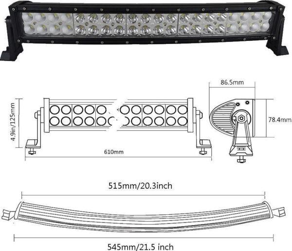 Αδιάβροχος προβολέας 40 LED