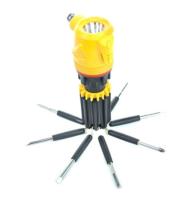 Πολυεργαλείο φακός LED και κατσαβίδια 12 σε 1 - Cannon QC-207