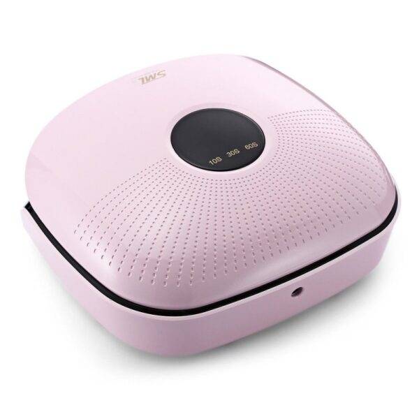 SML S-7 UVLED Φουρνάκι νυχιών 48W ροζ - λευκό