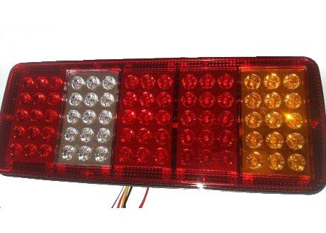 Universal πίσω φανάρι φορτηγού 24Volt 32x13,5cm