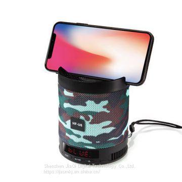 Ασύρματο φορητό ηχείο Bluetooth με οθόνη LCD - HF-U6