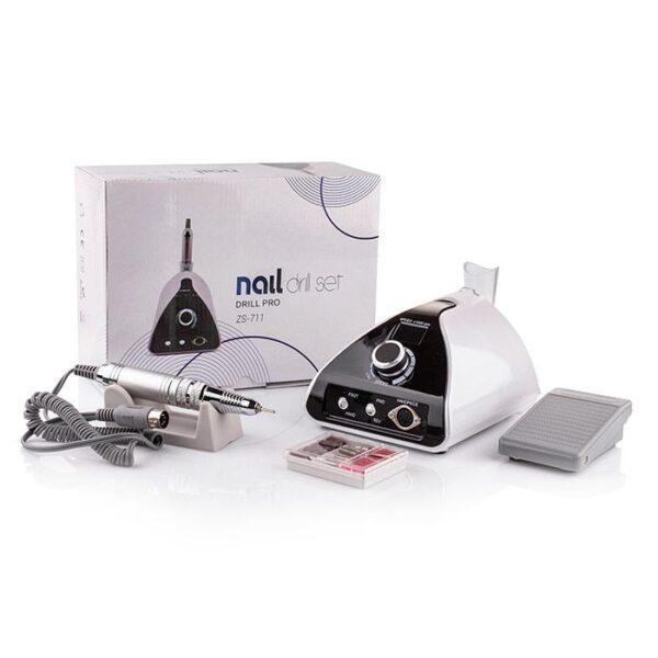 Επαγγελματικός τροχός νυχιών ZS-711- Nail drill set pro 65W