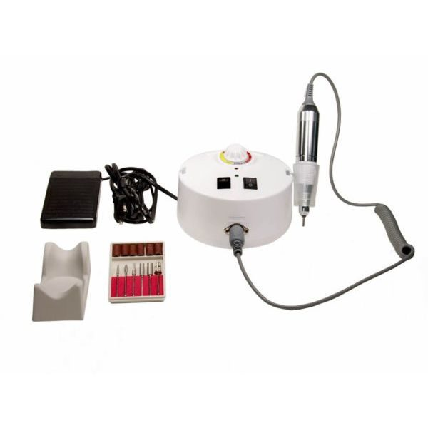 Nail Drill ZS-605 - Επαγγελματικός ηλεκτρικός τροχός μανικιούρ πεντικιούρ