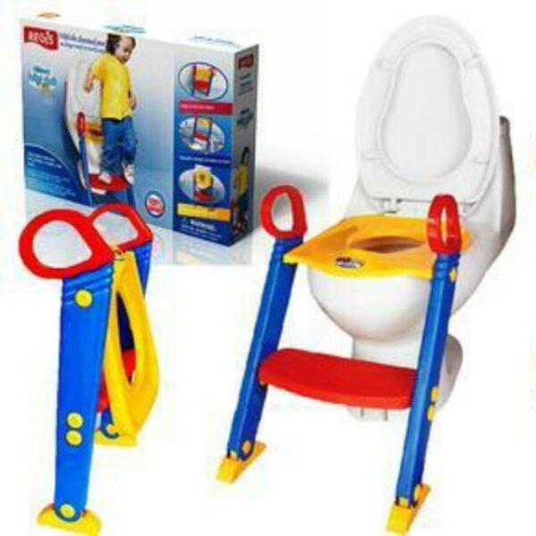 Παιδικό κάθισμα τουαλέτας με σκαλοπάτι και ρυθμιζόμενο ύψος - Children's Toilet TrainerΠαιδικό κάθισμα τουαλέτας με σκαλοπάτι και ρυθμιζόμενο ύψος - Children's Toilet Trainer