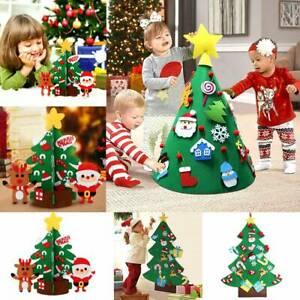 Παιδικό χριστουγεννιάτικο δέντρο 3D με διάφορα στολίδια