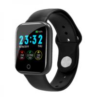 Smartwatch Bakeey I5 - Με αισθητήρα πίεσης, οξυγόνου και καταγραφή αθλητικής δραστηριότητας - Μαύρο