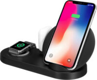 Ασύρματη βάση φόρτισης 5 σε 1 - W7 Charging station for Apple iPhone, iPad, iWatch, Earpods & USB