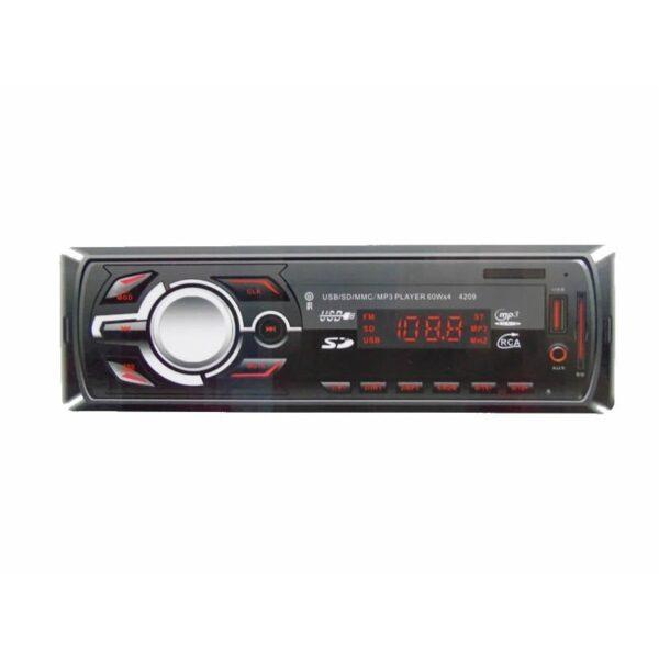 MP3 Player αυτοκίνητου radio auto USB SD MP3 AUX 4X60W LCD CDX-4209