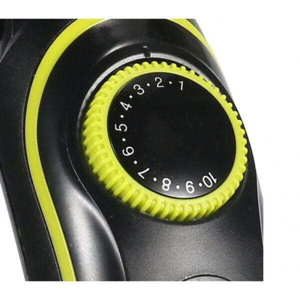 KEMEI KM-696 - Σετ κουρευτικής και ξυριστικής μηχανής για μαλλιά γένια και σώμα 5 σε 1