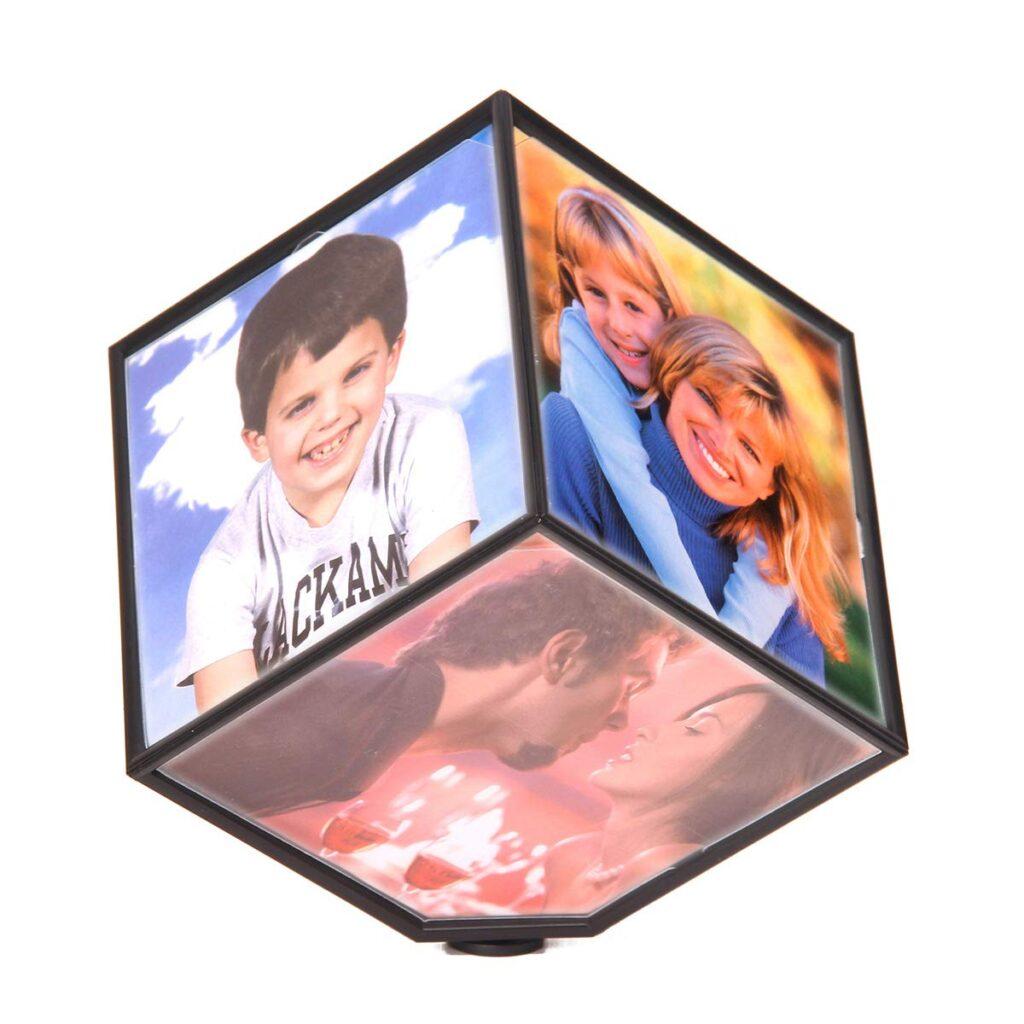 Μεγάλη περιστρεφόμενη κορνίζα κύβος 15εκ - Magic cube