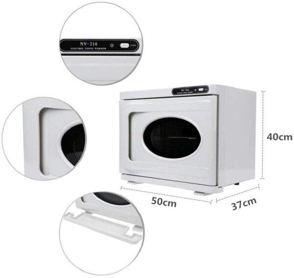 Επαγγελματικός αποστειρωτής και στεγνωτήρας UV για πετσέτες 110W- NV-216