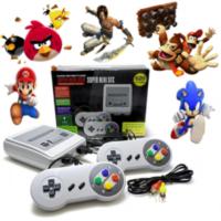 Κονσόλα με 620 παιχνίδια και δύο τηλεχειριστήρια 8 bit - Classic mini tv game