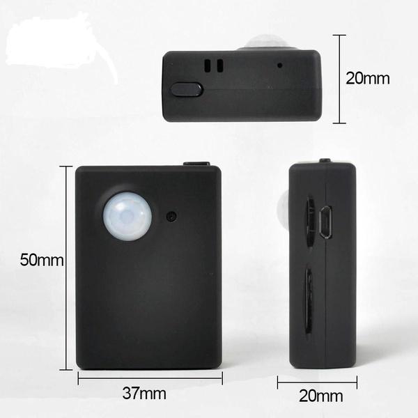 Κοριός καταγραφής με αυτόματο αισθητήρα Βίντεο, Ήχου, Φωτογραφιών & GPS Tracker X9009