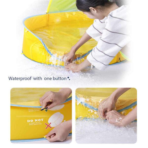 Παιδική πισίνα με τέντα κατάλληλη για εσωτερικό & εξωτερικό χώρο - OEM