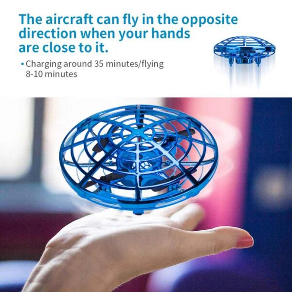 Mini Drone με αισθητήρες εμποδίων για χειρισμό με τα χέρια – OEM