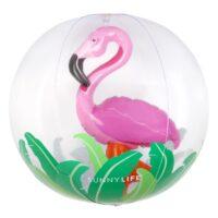 3D Φλαμίνγκο φουσκωτή μπάλα θαλάσσης- OEM