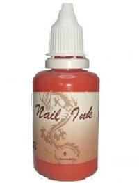 Ακρυλικό χρώμα αερογράφου Καρπουζί - Airbrush Watermelon Nail Ink 30ml OEM