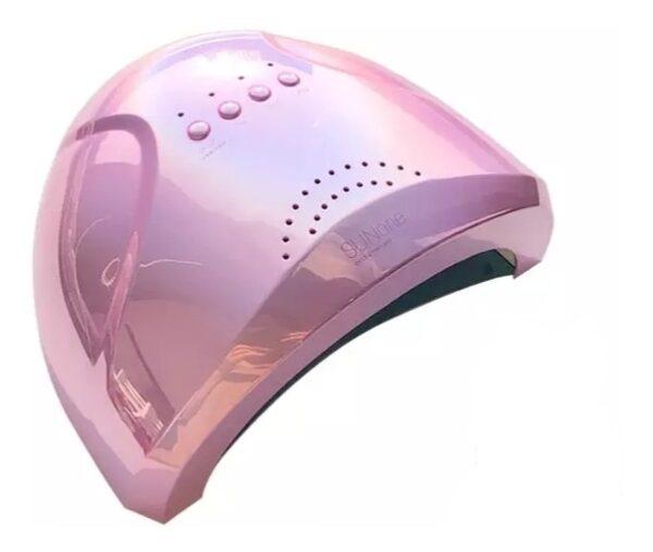 Φουρνάκι νυχιών SUNone UV LED 48W - Μανικιούρ Πεντικιούρ - Ροζ Μεταλλικό