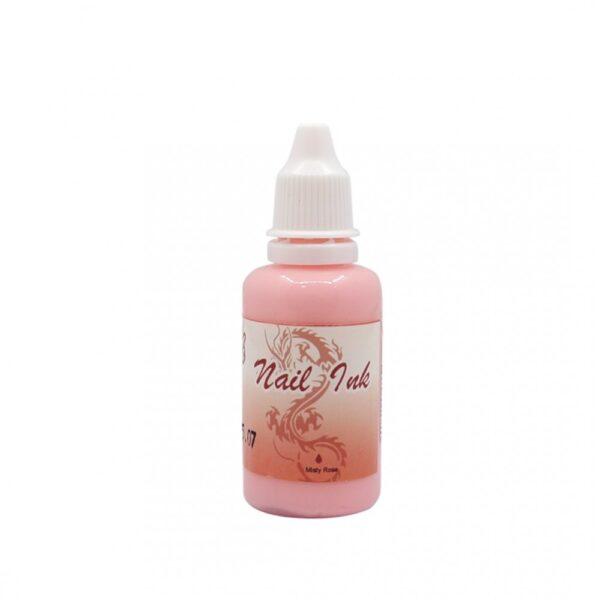 Ακρυλικό χρώμα αερογράφου Ροζ- Airbrush Nail Ink 30ml OEM
