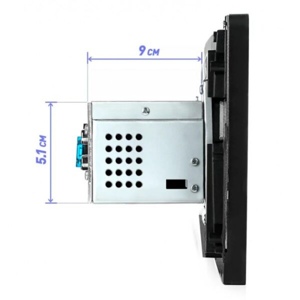 """Multimedia MP5 αυτοκινήτου 1 DIN με οθόνη αφής HD 9"""" (USB, MP3, MP5, Bluetooth, Mirrorlink) MP5-9008"""