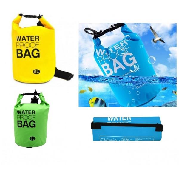 Αδιάβροχος σάκος παραλίας 5L - Waterproof Dry Bag ΟEM