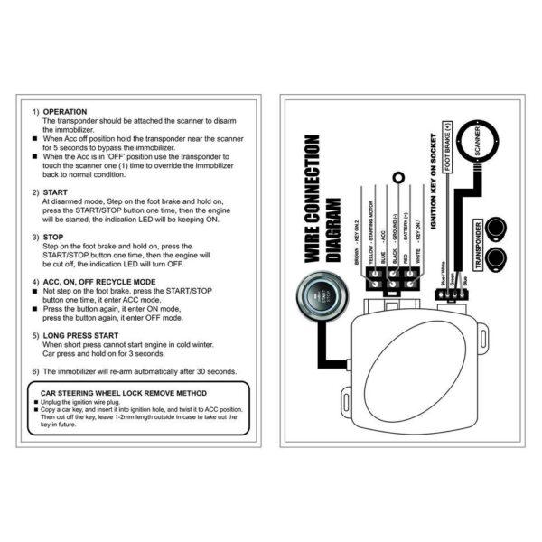Σύστημα Εκκίνησης Κινητήρα του αυτοκινήτου-NQ-ST9002
