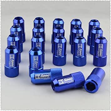 D1 SPEC μπουλόνια αλουμινίου για ζάντες - ΜΠΛΕ