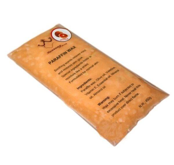 Πλάκα παραφίνης 450gr Πορτοκάλι- Konsung
