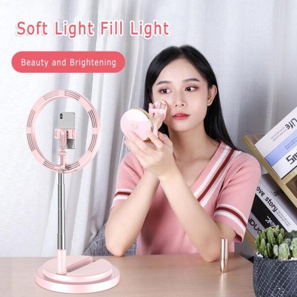 Πτυσσόμενο φορητό Ring light 30cm -Y2