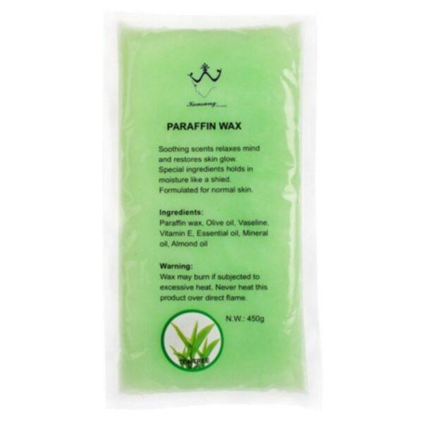 Πλάκα παραφίνης 450gr Tea tree- Konsung