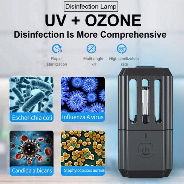 Uv λάμπα απολύμανσης χώρου 3.8w - Uv disinfection lamp ST-XD-08
