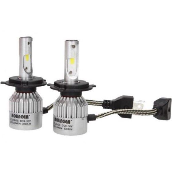 Rolinger T6 H1 LED Φώτα αυτοκινήτου 30W 3000L 6000K