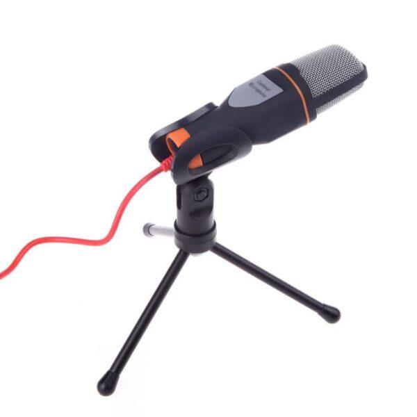 Πυκνωτικό μικρόφωνο ηχογραφήσεων ANDOWL Q-888 με τρίποδο