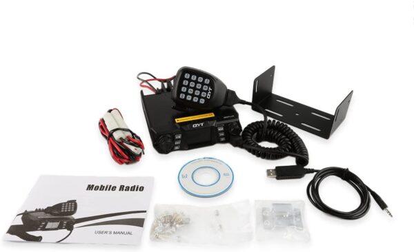 QYT KT-980 Plus VHF UHF 75W Dual Band Πομποδέκτης αυτοκινήτου