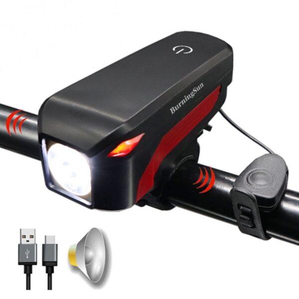 Φως ποδηλάτου με κόρνα - OEM DX-002
