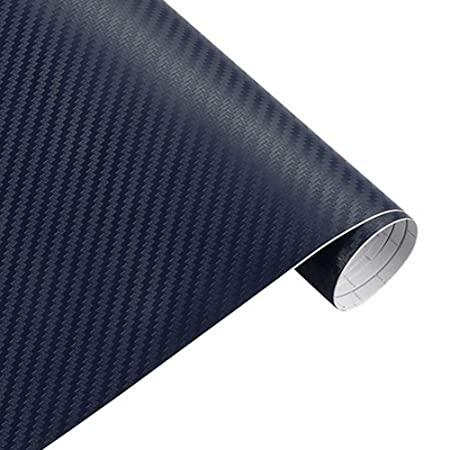 Διακοσμητική αυτοκόλλητη ταινία 3D Carbon-Ρολό 50×100cm-Μπλε